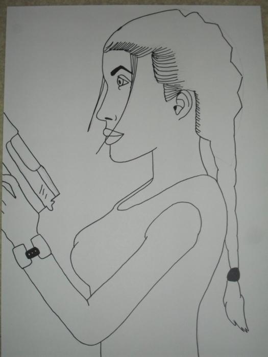 Angelina Jolie by melinanou